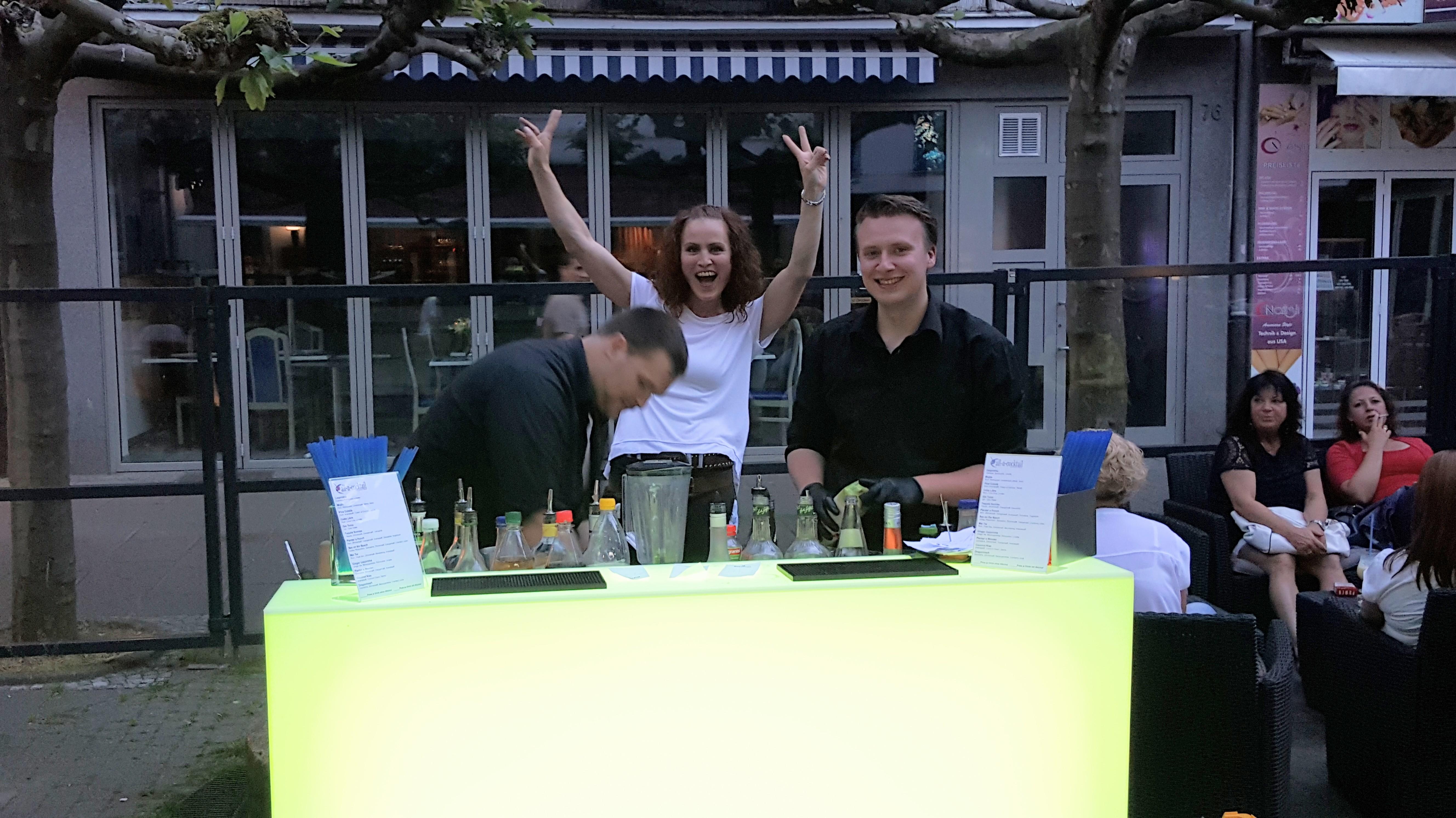 Cocktailabend im Gambrinus - Foto: Klaus P. Lewohn